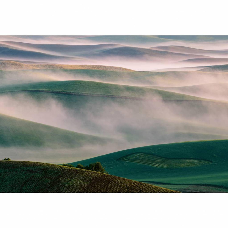 Foggy Hills - 4 delig - 368 x 254 cm - Multi