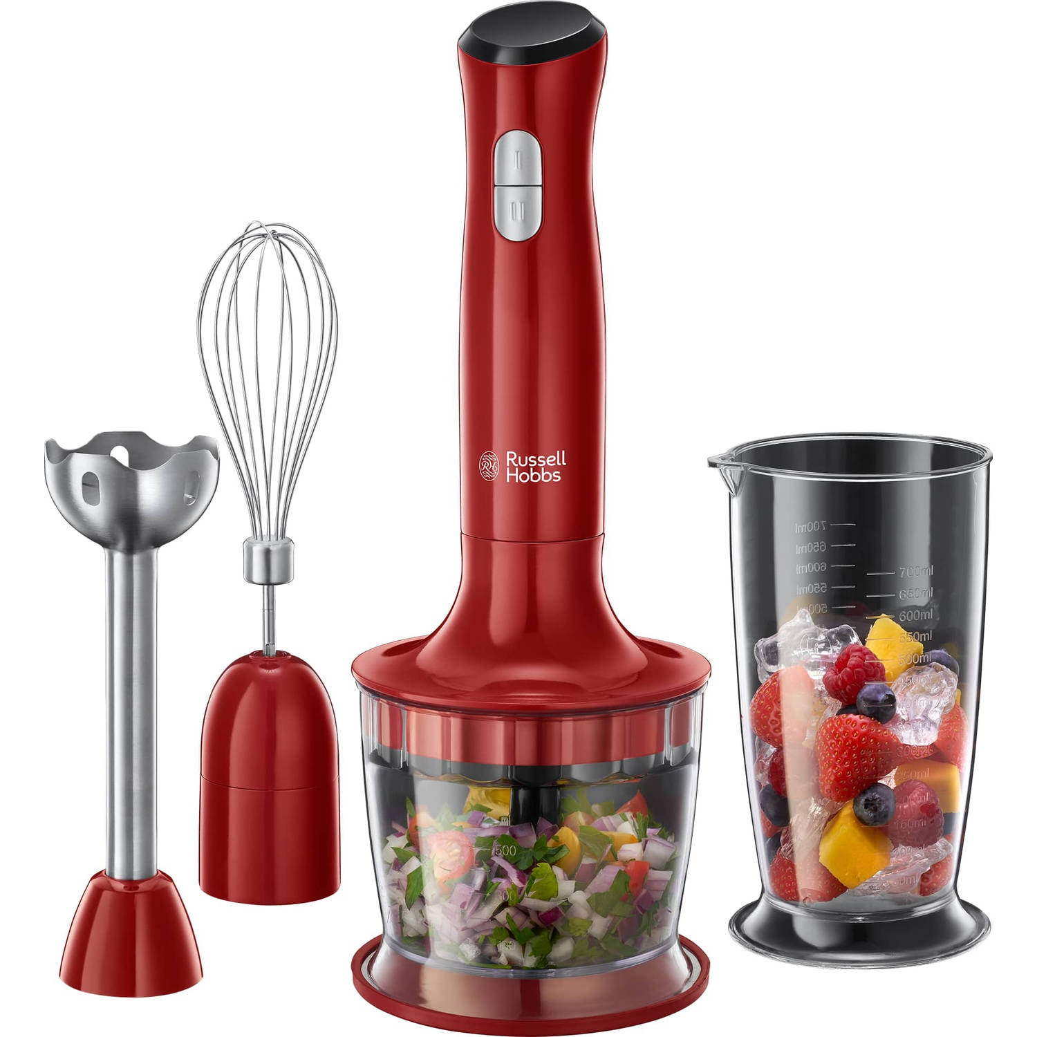 Russell Hobbs 3in1 mixset Desire 24700-56 - rood