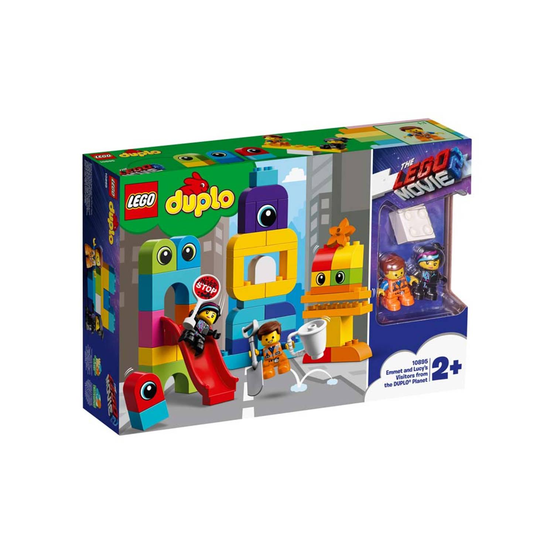LEGO DUPLO The LEGO Movie 2 Visite voor Emmet en Lucy van de DUPLO Planeet 10895