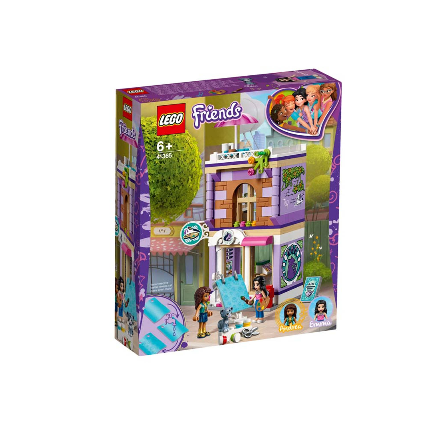 LEGO Friends Emma's kunstatelier 41365