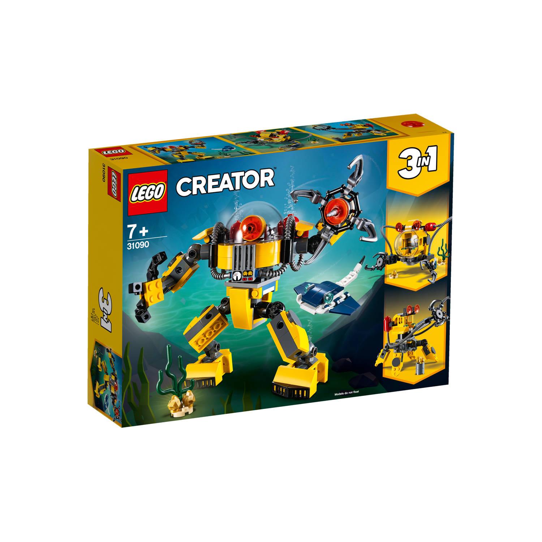 31090 Lego Creator Onderwaterrobot