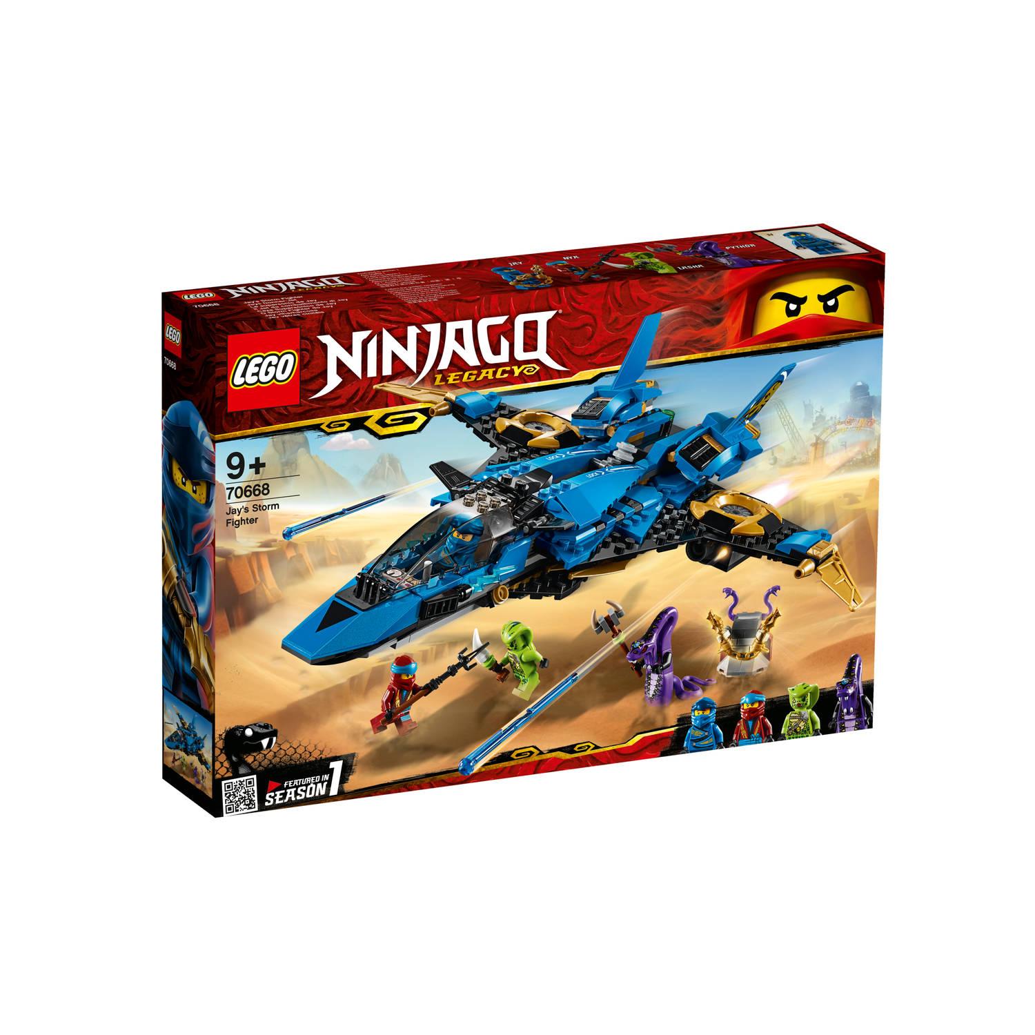 Korting LEGO Ninjago Jay's Storm Fighter 70668