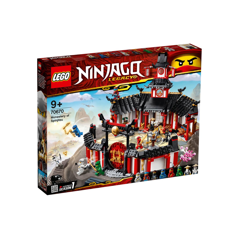 Korting LEGO Ninjago Het Spinjitzu klooster 70670