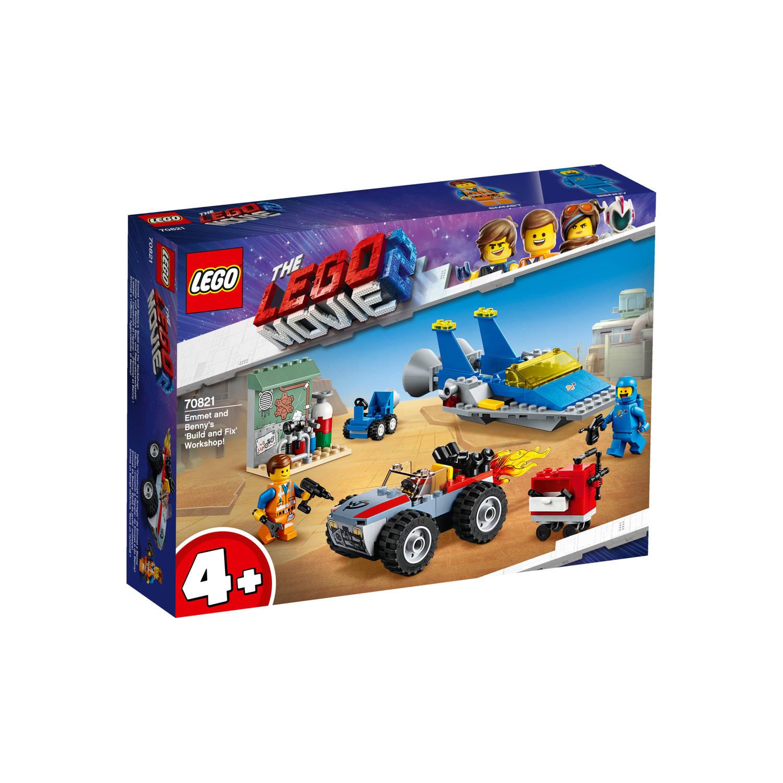 Korting Lego Movie Emmets En Benny's Bouw En Reparatiewerkplaats 70821