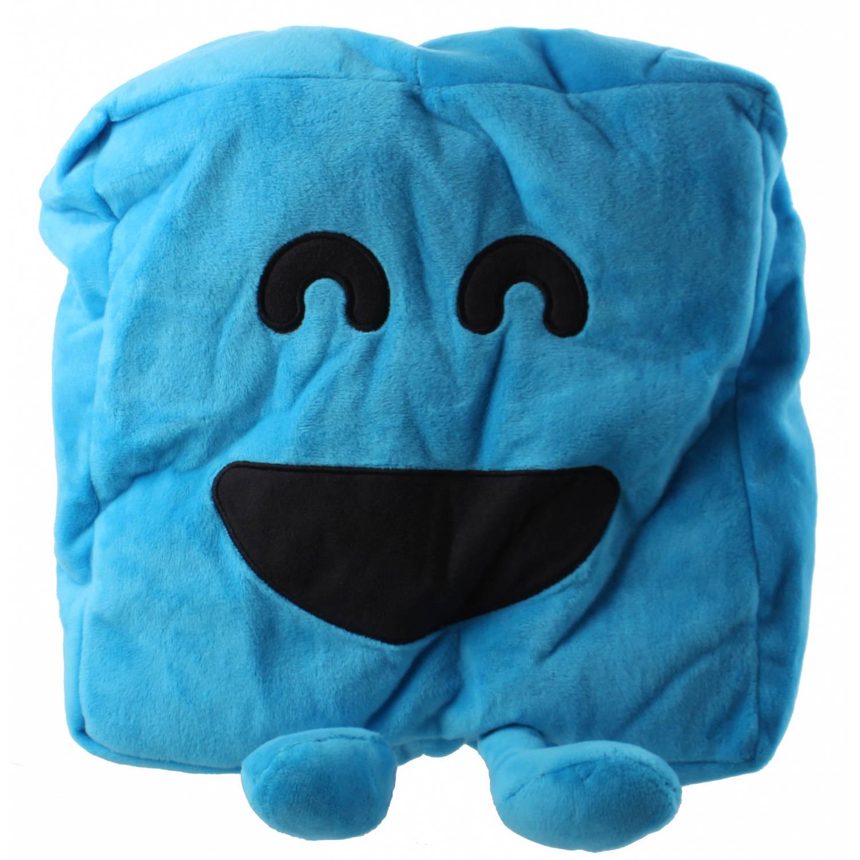 Kamparo Mister Maker kussen pluche 28 cm blauw