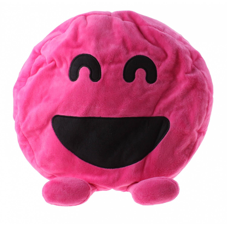 Kamparo Mister Maker kussen pluche 28 cm roze