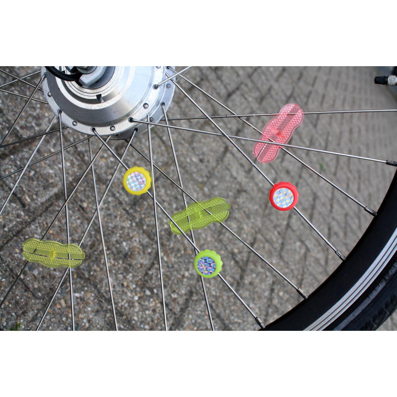 fietswiel decoratieset 18 delig