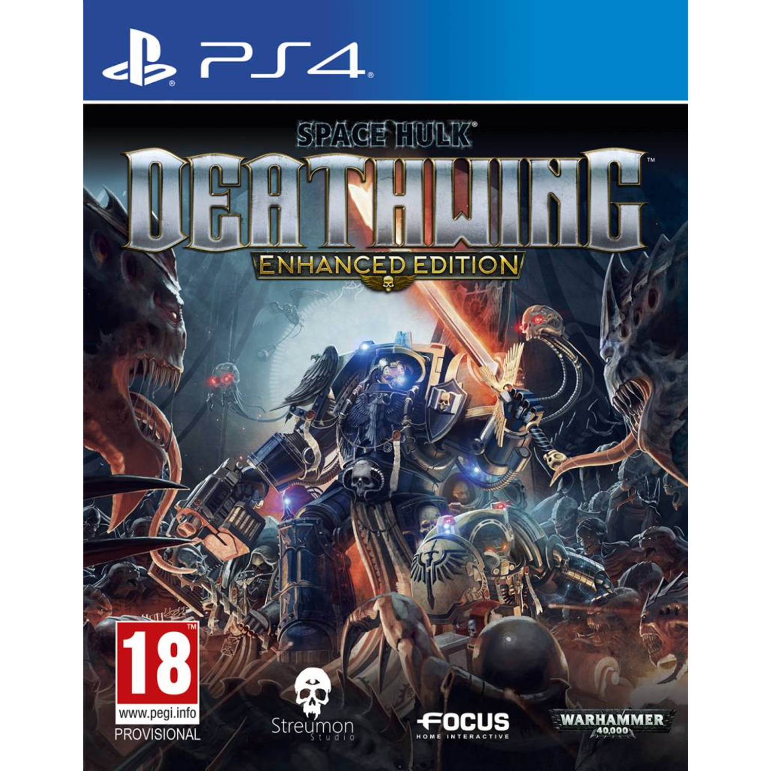 Focus Home Interactive Space Hulk, Deathwing (Enhanced Edition) PS4 (kf-136267)