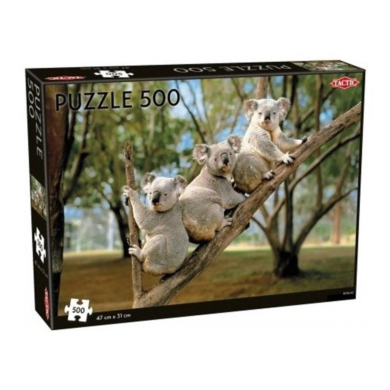 Tactic legpuzzel koalas 500 stukjes