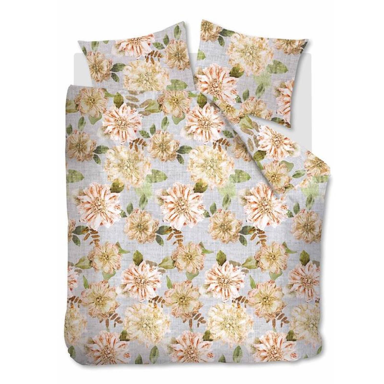 Beddinghouse Linen Flower Dekbedovertrek - 1-persoons (140x200/220 Cm + 1 Sloop)