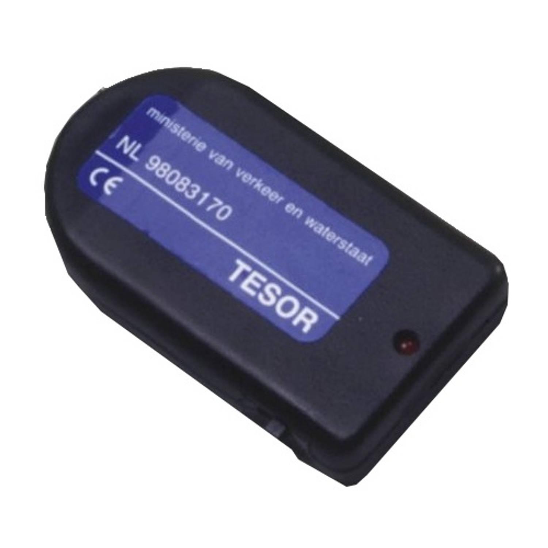 Tesor losse afstandsbediening auto-alarm zwart kunststof