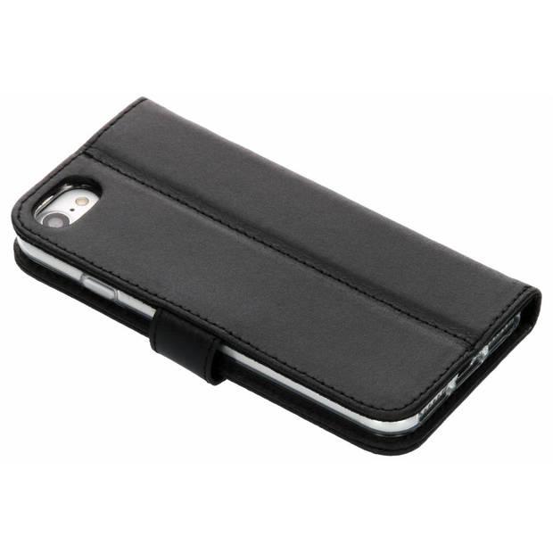 Zwarte Booklet Leather voor de iPhone 8 / 7 / 6s / 6