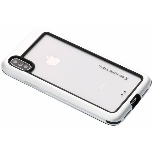 Zilveren Atomic Slim Case voor de iPhone X