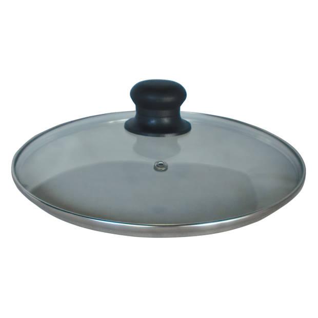 Camry CR 6705 - Universeel glazen deksel - 24cm