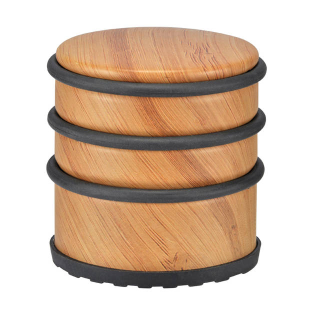 Haushalt 16015 - Deurstopper - bamboe design - 1.1 kg - 7x7cm