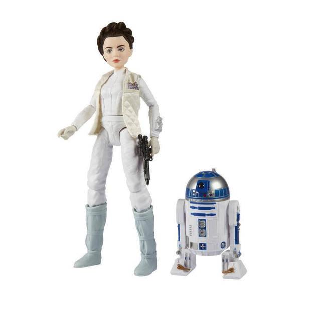 Hasbro Disney Star Wars: Princess Leia crème 26 cm