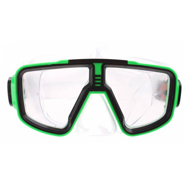 Jonotoys duikbril Swim-Goggles 16 x 7 cm groen