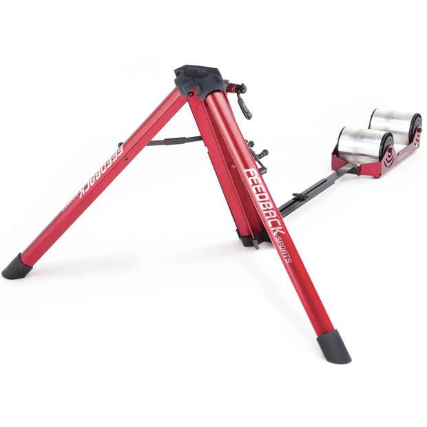 Feedback Fietstrainer Fietstrainer Omnium Portable (progres. weerstand) Unisex Rood