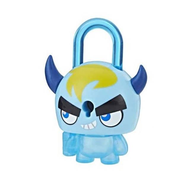 HASBRO Lock Stars-figuur Horned Monster 6 cm blauw 5-delig