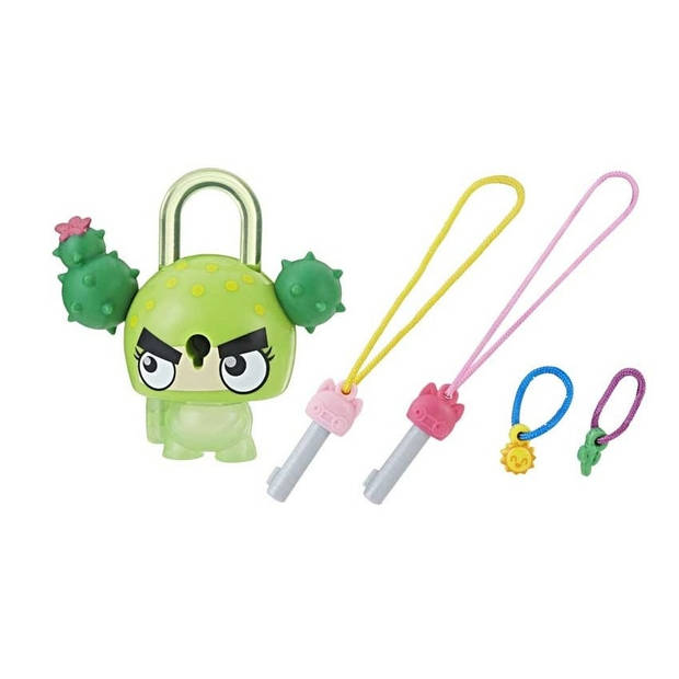 Hasbro Lock Stars-figuur Cactus 6 cm groen 5-delig