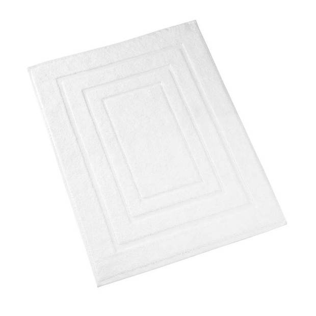 De Witte Lietaer Pacifique badmat - 100% katoen - Badmat (50x75 cm) - White