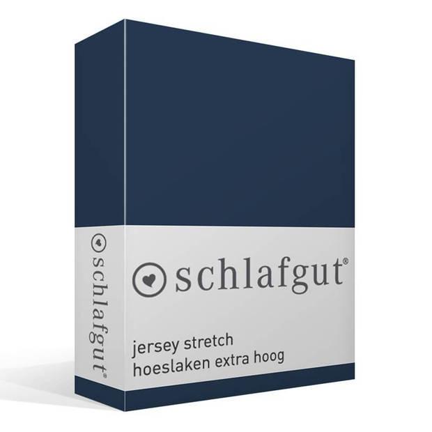 Schlafgut Jersey stretch hoeslaken extra hoog - Lits-jumeaux (180/200x200/220 cm)
