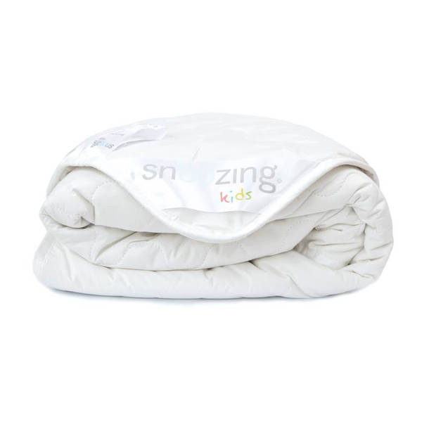 Snoozing Kreta - Katoen - Zomer kinderdekbed - Ledikant - 100x135 cm - Wit