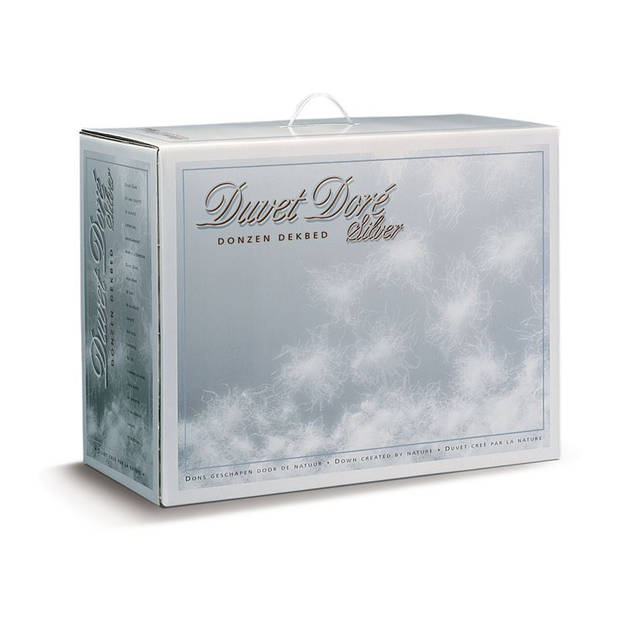 Duvet Doré Duvet Doré Silver donzen 4-seizoenen dekbed - Lits-jumeaux (240x200 cm) - Volwassen
