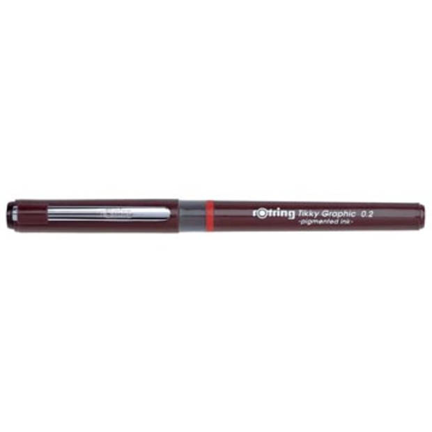 Rotring fineliner Tikky Graphic 0,2 mm
