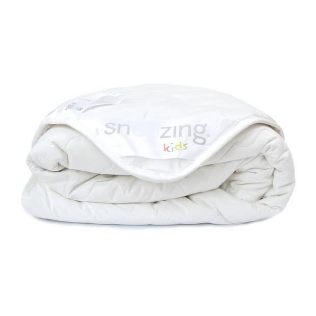 Snoozing Rhodos - Katoen - Kinderdekbed - Ledikant - 100x135 cm - Wit