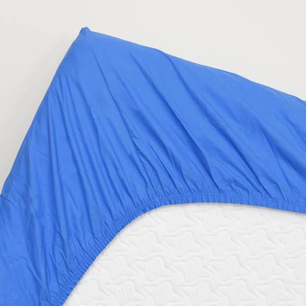 Snoozing - Hoeslaken -160x200 - Percale katoen - Meermin