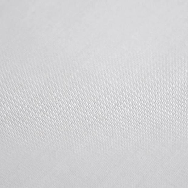 Snoozing - Katoen-satijn - Laken - Eenpersoons - 280x300 - Grijs
