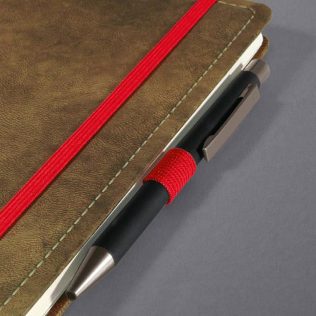 Notitieboek Conceptum 194blz hard Vintage Brown 135x203mm gelinieerd