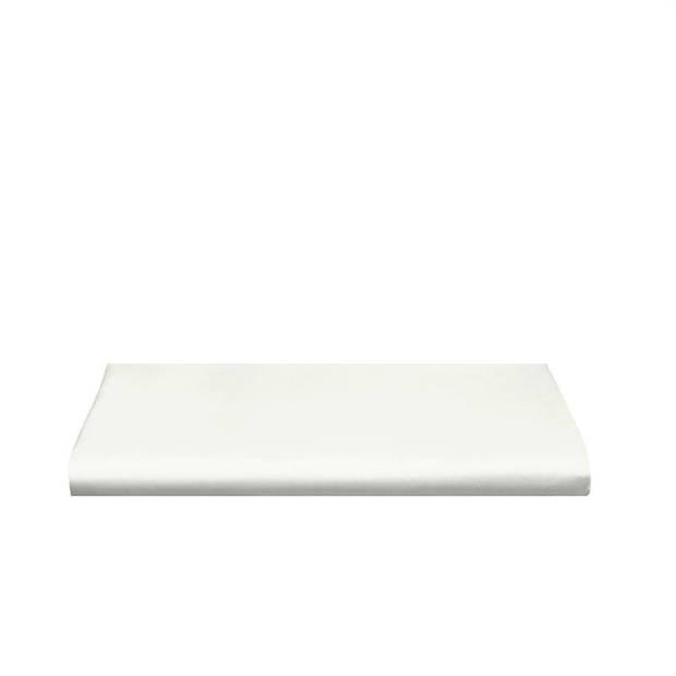 Cinderella Basic percaline katoen laken - 100% percaline katoen - 1-persoons (160x260 cm) - Off-White