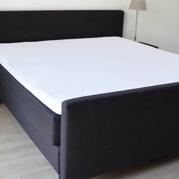 Snoozing Stretch - Topper - Hoeslaken - 160/180x200/220/210 - Wit