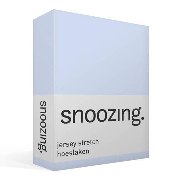 Snoozing Jersey Stretch - Hoeslaken - 200x200/220/210 - Hemel