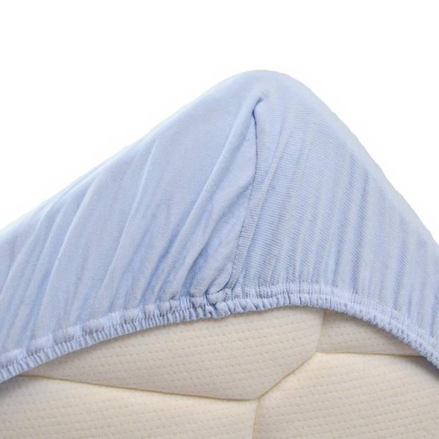 Snoozing Jersey Stretch - Hoeslaken - 160/180x200/220/210 - Hemel