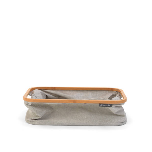 Brabantia opvouwbare wasmand - 40 liter - grey