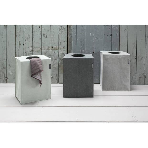 Brabantia wastas - rechthoekig - 55 liter - grey