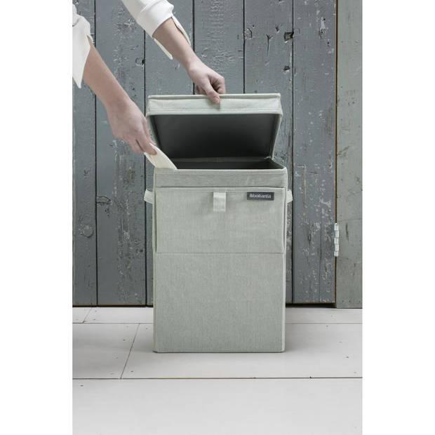 Brabantia wasbox - stapelbaar - 35 liter - green
