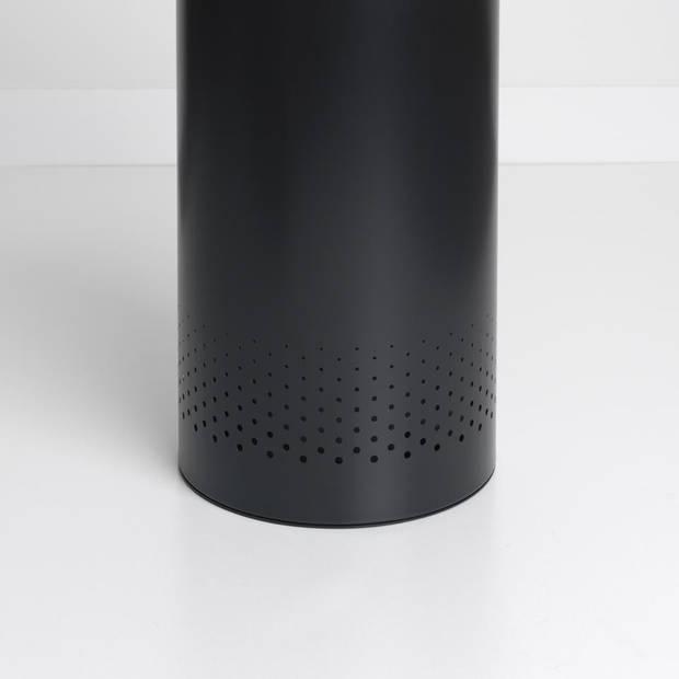 Brabantia wasbox - met kurken deksel - 60 liter - matt black