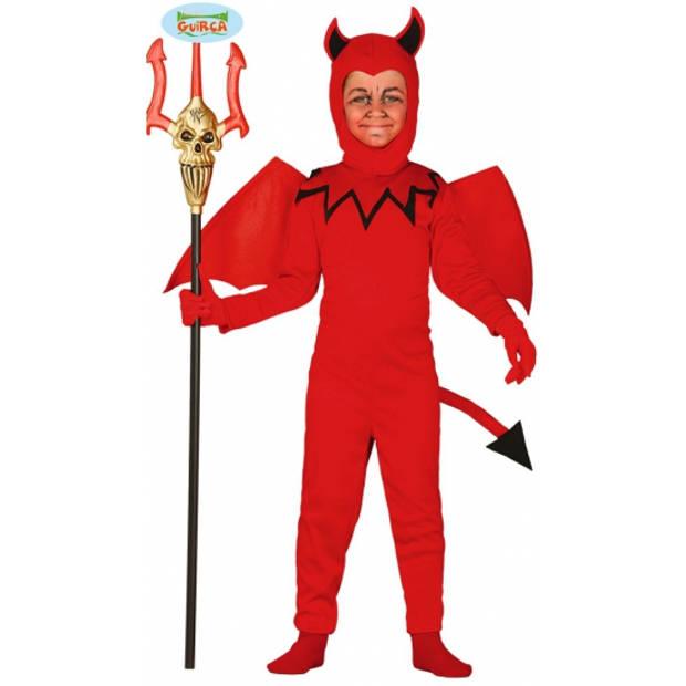 Duivel kostuum voor kinderen 98-104 (3-4 jaar)