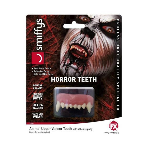 Halloween - Horror gebit weerwolf tanden voor volwassenen