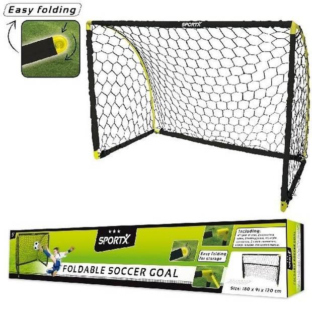 Voetbal goal/voetbaldoel 180 x 91 x 120 cm - Voetbaldoel