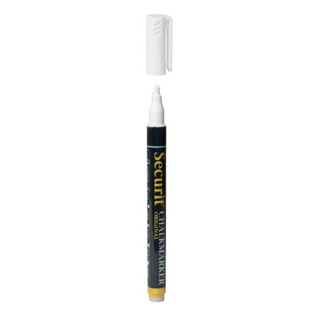 Witte krijtstift ronde punt 1-2 mm
