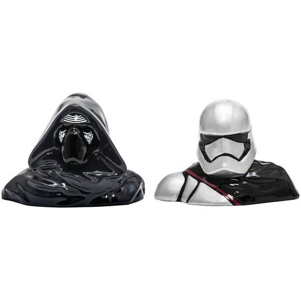 Star Wars peper en zoutstel Kylo Ren en Captain Phasma