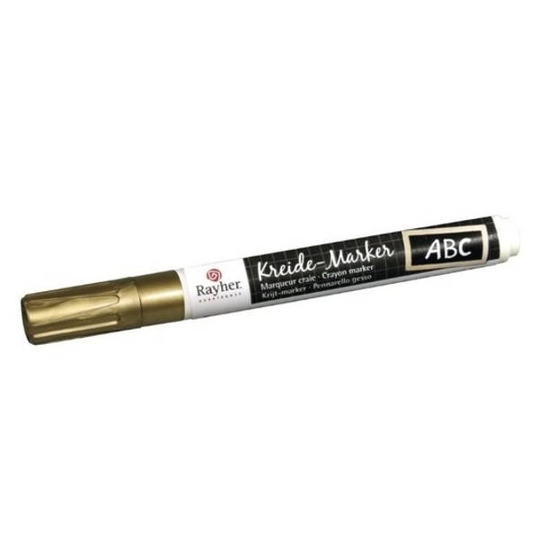 Gouden raamstift op waterbasis - Hobby viltstiften