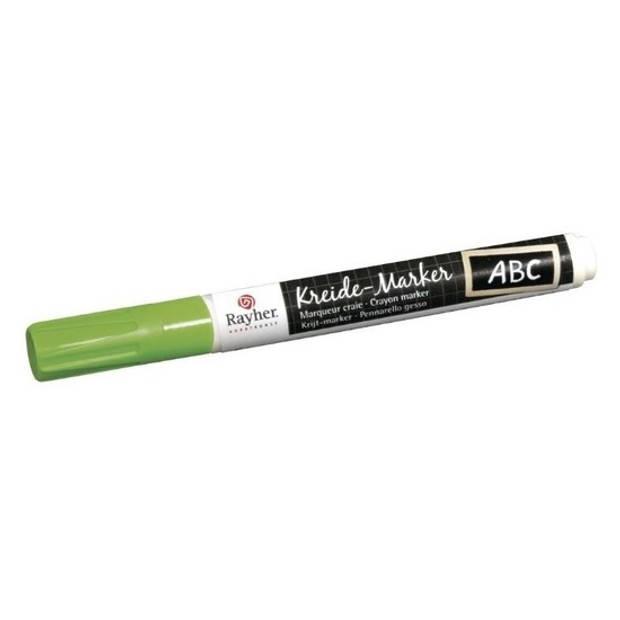 Groene raamstift op waterbasis - Hobby viltstiften