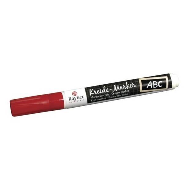 Rode raamstift op waterbasis - Hobby viltstiften