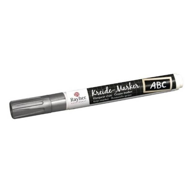 Zilveren raamstift op waterbasis - Hobby viltstiften